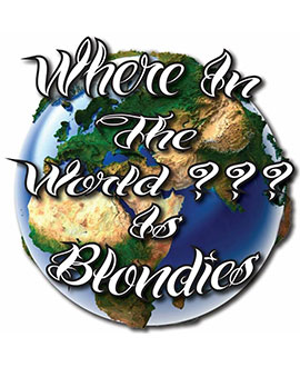 Blondie's Where in the World